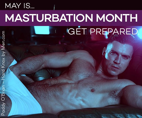 Masturbation Month stroker sex toys.
