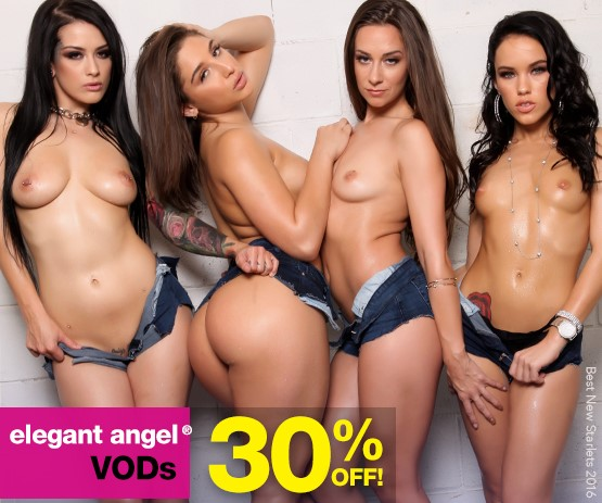 Buy Elegant Angel streaming porn videos on sale starring Katrina Jade and more.