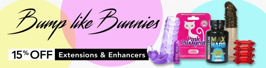 Save 15% on extensions and enhancers.