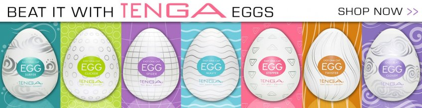 Browse Tenga Egg sex toys.
