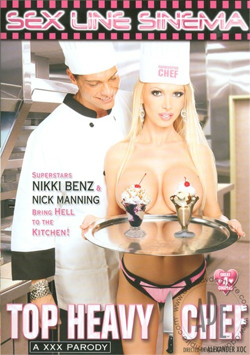 Top Heavy Chef: A XXX Parody Kris Slater Brooke Haven Nick Manning