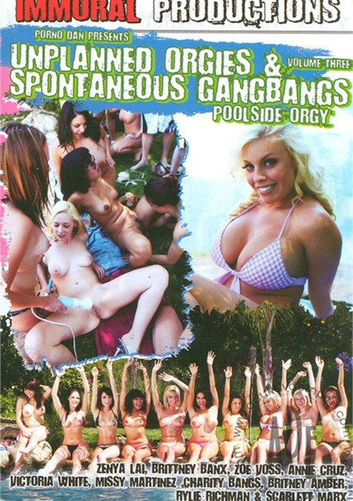 Unplanned Orgies & Spontaneous Gangbangs Vol. 3 image