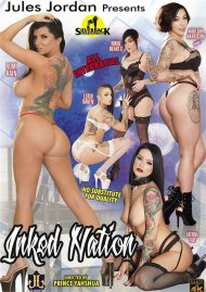 Inked Nation DVD porn movie from Jules Jordan Video.