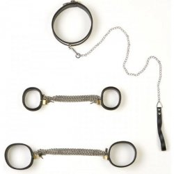 Rapture: 5 Piece Stainless Steel Bondage Set - Small.
