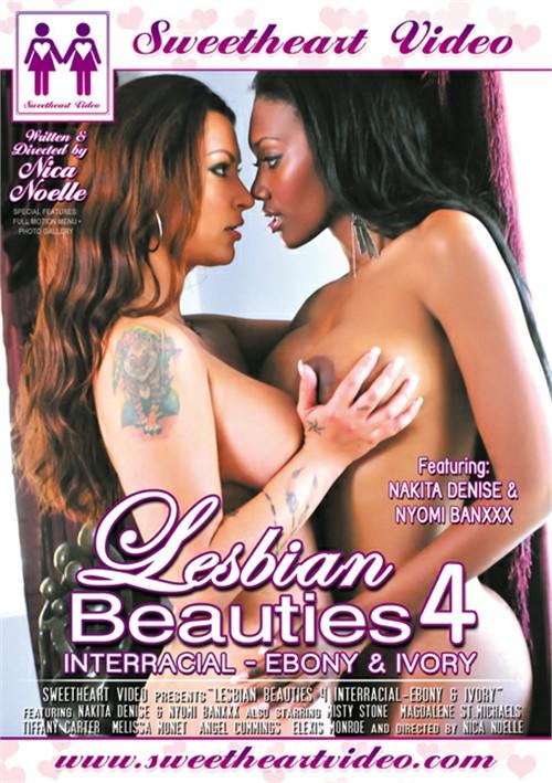 Lesbian Beauties Vol. 4: Interracial Ebony & Ivory