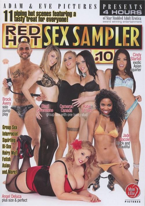Red Hot Sex Sampler #10 Amber Sky Adam & Eve Bi-Sexual