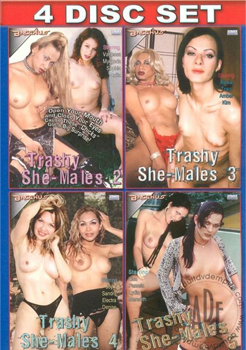 Trashy Shemales 4 Pack Fetish Bacchus 2012