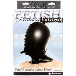 Fetish Fantasy Extreme Total Blackout Latex Hood Sex Toy