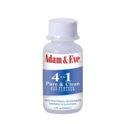 Adam & Eve 4 in 1 Pure & Clean Toy Cleaner - 1 oz. Sex Toy