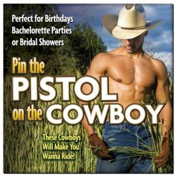 Pin The Pistol On The Cowboy Game Sex Toy