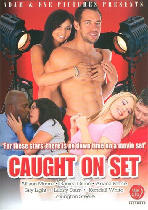 Caught On Set DVD Porn Movie Image.