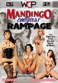 Mandingo Cougar Rampage DVD Image from West Coast Productions.