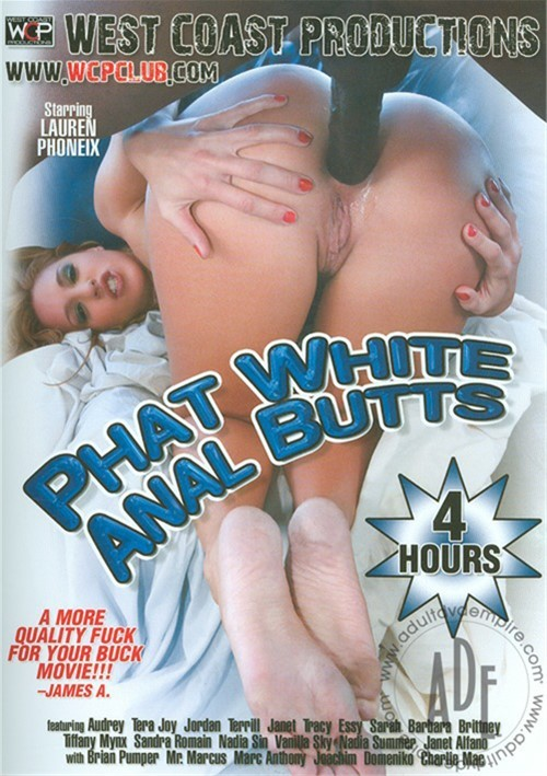 Phat White Anal Butts