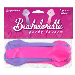 Bachelorette Party Favors Pecker Balloons Sex Toy