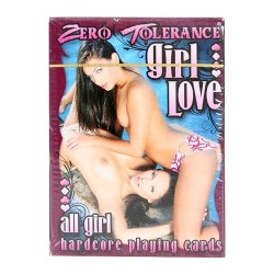 Zero Tolerance All Girl Hardcore Playing Cards Sex Toy