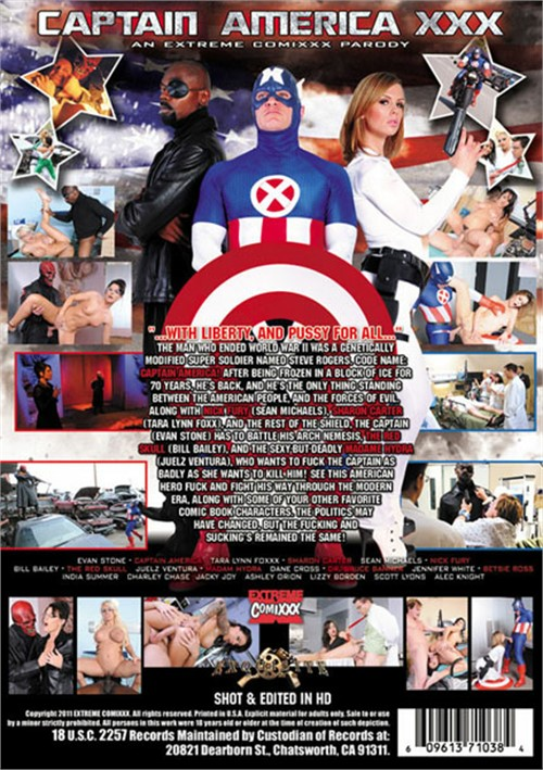 movie captain america xxx a porn parody