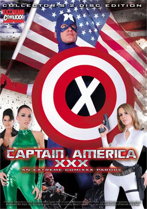 Captain America XXX: An Extreme Comixxx Parody
