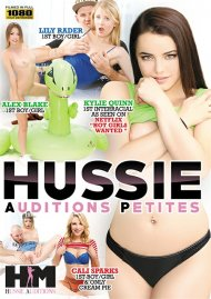 Hussie Auditions Petites DVD porn movie from Hussie Auditions.