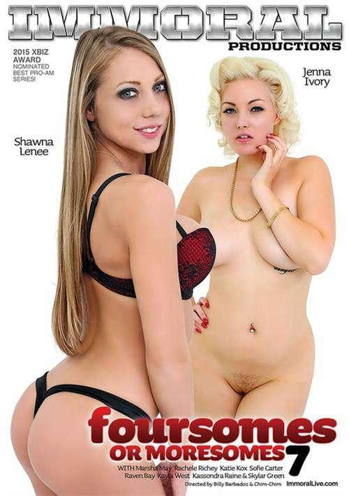Foursomes Or Moresomes Vol. 7 Rachele Richey Skylar Green All Sex