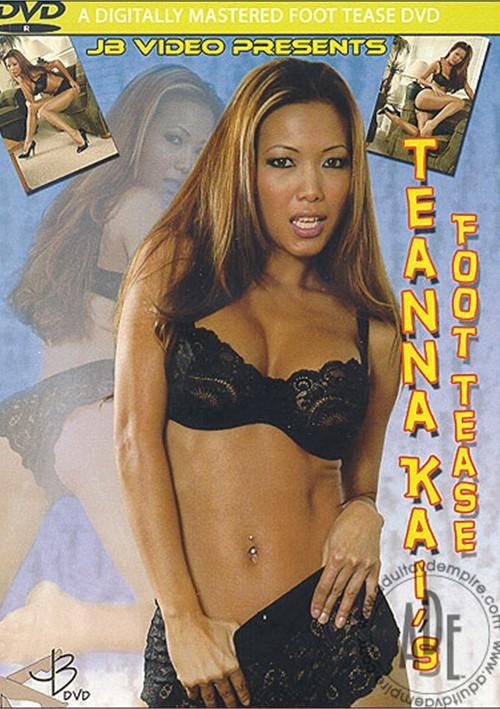 Teanna Kai's Foot Tease Pantyhose & Stocking Masturbation 621118