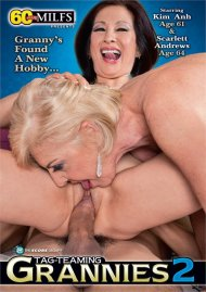 Tag-Teaming Grannies 2 DVD porn movie from Score.
