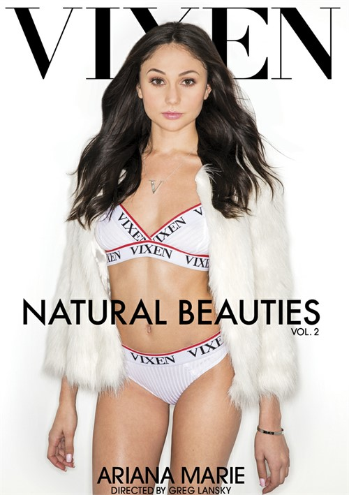 Ariana Marie stars in Natural Beauties Vol. 2 DVD porn movie.