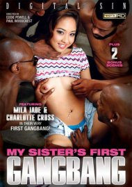 My Sister's First Gangbang DVD Image from Digital Sin.