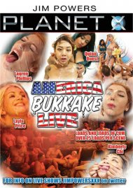 American Bukkake Live DVD porn movie from Planet X.