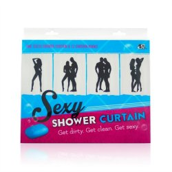Sexy Shower Curtain - Female Solo Sex Toy