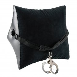 Fetish Fantasy Deluxe Position Master With Cuffs - Black image