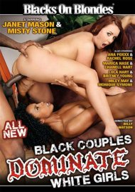 Black Couples Dominate White Girls DVD Image from Blacks on Blondes.