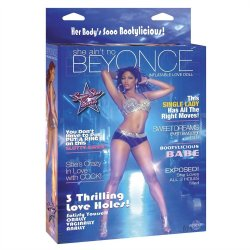 She Ain't No Beyonce Inflatable 3 holed Love Doll Sex Toy