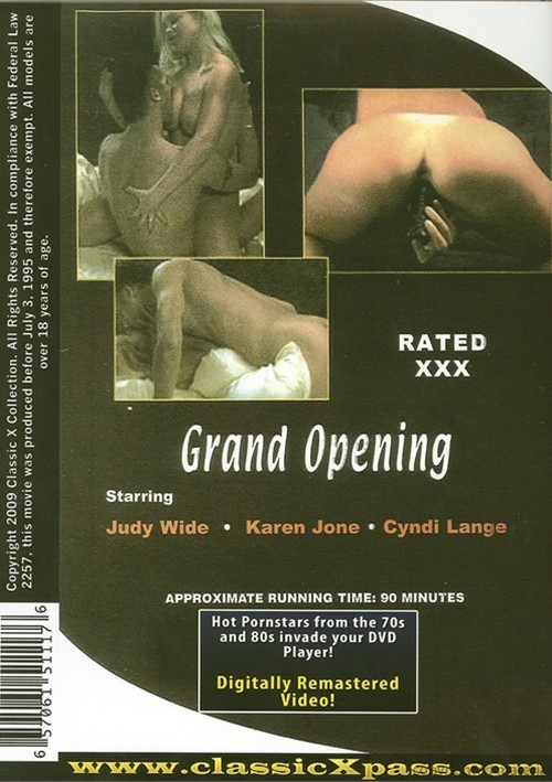 grand opening adult