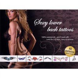 Sexy Lower Back Tattoos Sex Toy