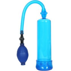 Pump Worx Beginner's Power Pump - Blue Sex Toy