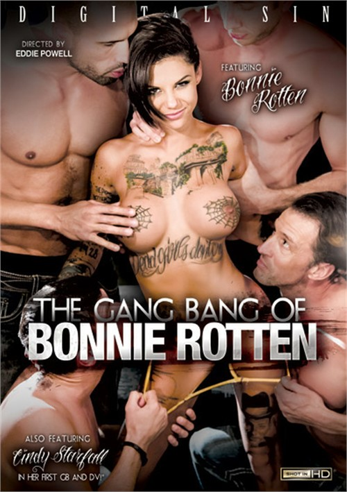 The Gang Bang Of Bonnie Rotten  gangbang porn video from Digital Sin.