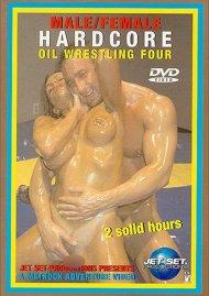 Male/Female Hardcore Oil Wrestling 4 Porn Movie