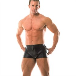 Rapture Mens Leather Shorts Sex Toy