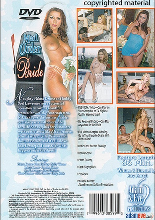 I Was A Mail Order Bride DVD by Wicked Pictures