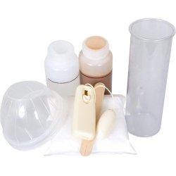 Make Your Own Dildo w/Balls Kit - Vibrating - Light Tone Sex Toy