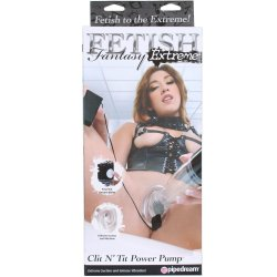 Fetish Fantasy Extreme Clit N Tit Power Pump Sex Toy