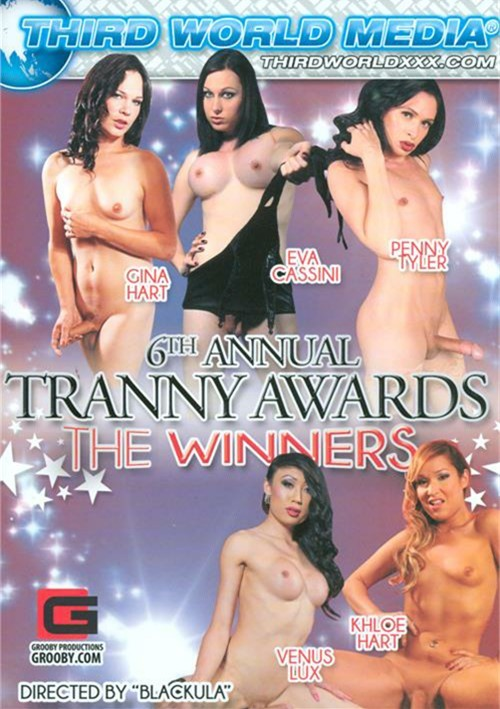 6th Annual Tranny Awards: The Winners- On Sale! Gina Hart Venus Lux Khloe Hart