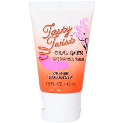 Tasty Twist Oral-Gasm Enhancing Balm - Orange Dreamsicle - 1.5 oz. Sex Toy