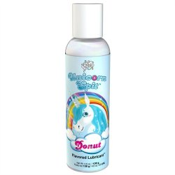 Wet Unicorn Spit Waterbased Lubricant – Donut Flavor – 4.6oz lube.