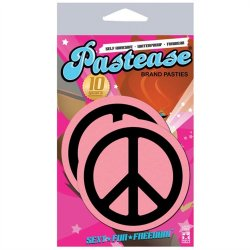 Pastease Baby Pink Peace Signs Sex Toy