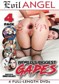 Worlds Biggest Gapes 4-Pack Porn Movie