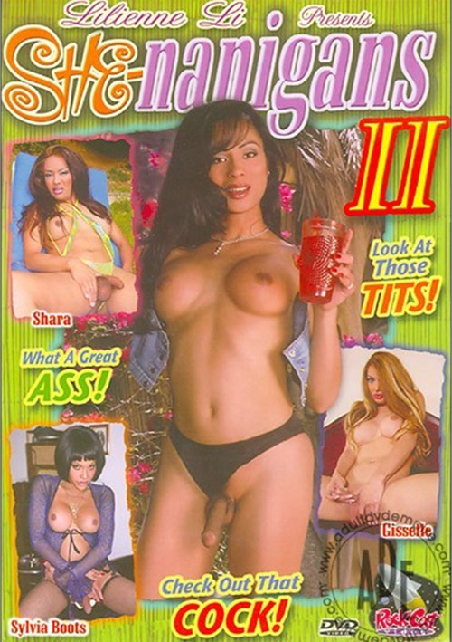 She-Nanigans II Sylvia Boots Transsexual Jay Huntington
