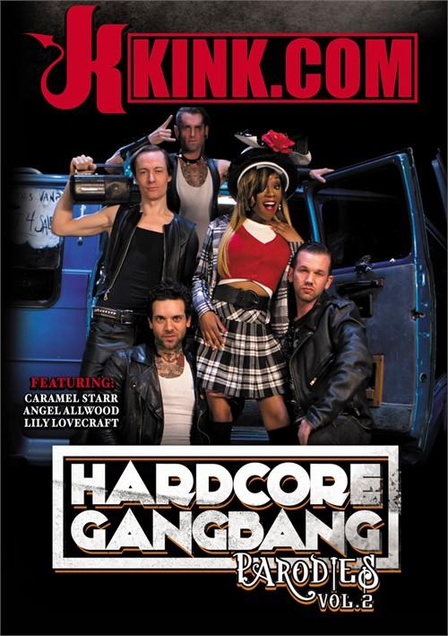 Caramel Starr stars in Hardcore Gangbang Parodies Vol. 2 DVD porn movie.