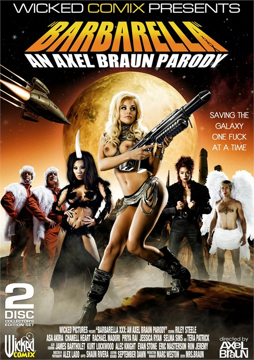 Barbarella XXX: An Axel Braun Parody parody porn video from Wicked Pictures.
