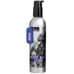 Tom of Finland Water Based Lubricant - 8 oz Pump Bottle Sex Toy